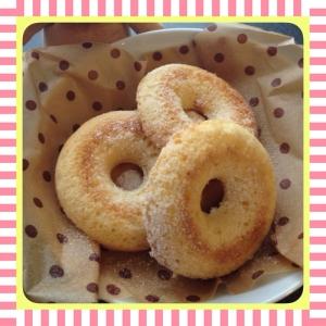 ♡HMで作るベイクドドーナツ(プレーン)♡