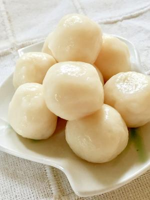 ヘルシー☆豆腐の白玉団子