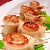 お弁当に☆ちくわのぐるぐる◎味噌バター焼き
