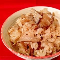 舞茸の炊き込み御飯