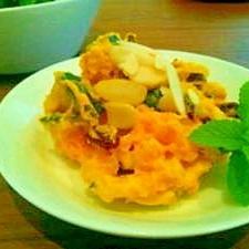 デリ風 かぼちゃとレーズンのサラダ