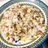 ひき肉とコーンの炒飯