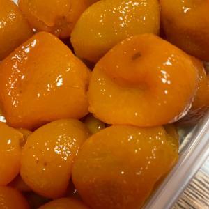 ビタミンシーたっぷり 金柑の甘煮