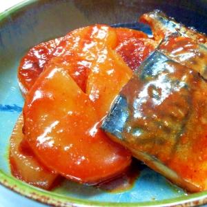 塩さばで♪韓国風さばの味噌煮