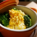 カリフラワーブロッコリー卵のマヨ辛子