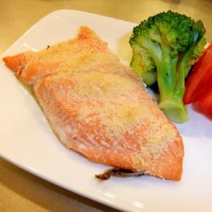 減塩☆生シャケのチーズグリル