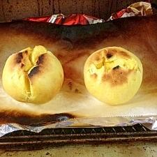 発酵不要! オーブントースターでかぼちゃパン