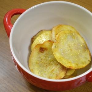 【簡単おつまみ】 カレー&チーズ風味のジャガイモ