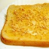 サクサクして甘めのトースト