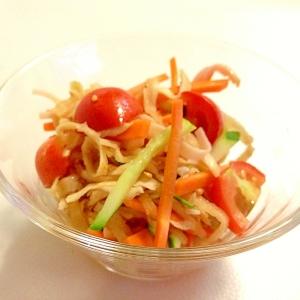 切り干し大根のシャキシャキ中華風サラダ