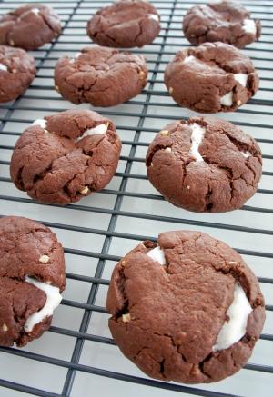 HMでサクふわ~♪マシュマロココアクッキー