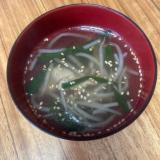 うちのスープ 豚肉ともやしとニラの中華スープ