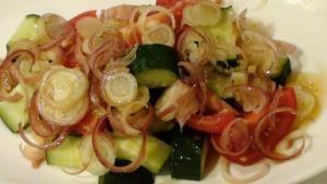 みょうが☆きゅうり☆トマトのさっぱり夏サラダ