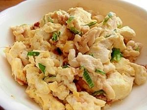 鶏ひき肉の炒り豆腐