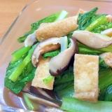 にんべんのつゆで♪簡単小松菜の煮浸し
