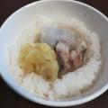秋の味覚!くりと里芋の炊き込みご飯