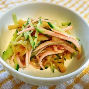 中華*胡瓜とクラゲの和え物