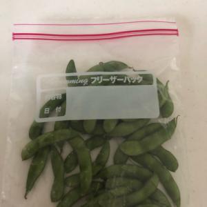 枝豆冷凍保存の仕方