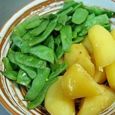 モロッコインゲンとじゃが芋のほくほく煮