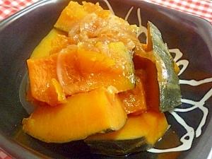 甘みたっぷり~新玉ねぎとかぼちゃの煮物