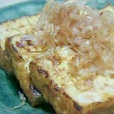 香りのバター醤油厚揚げステーキ