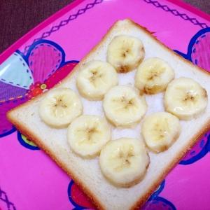 おやつトースト☆バナナシュガートースト