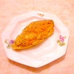 お味噌汁のお麩で♪ふんわり和風オムレツ