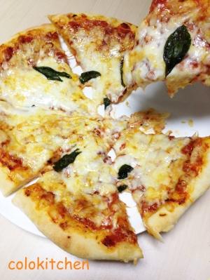 シンプル!!マルゲリータ風ピザ