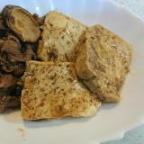 牛肉で肉豆腐