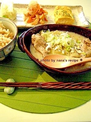 手羽元と豆乳の美肌★スープ