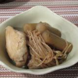 鶏もも肉とごぼうのさっぱり煮