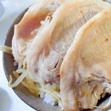 豚もやし丼 ポン酢風味