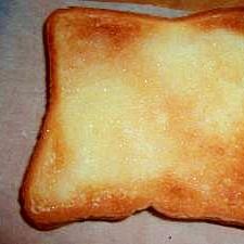 トーストの、救済ラスク♪