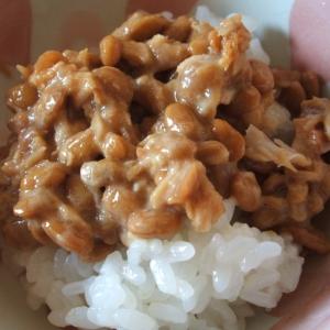 シーチキンと梅の納豆