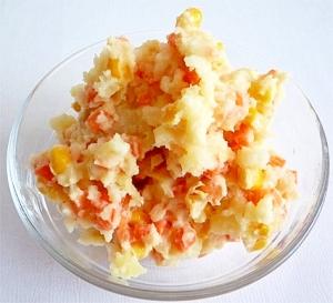 シトラスカラーのポテトサラダ