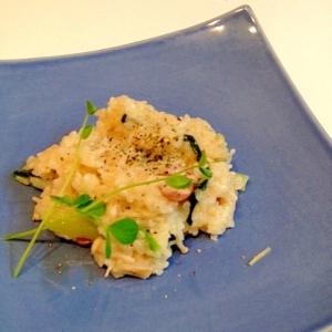 小松菜リゾット