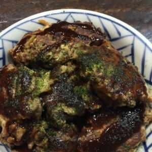 にんじん入り納豆のお焼き