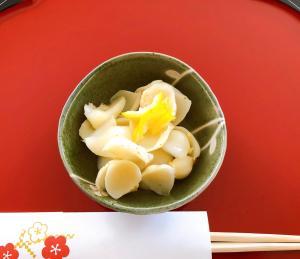 【迎春】百合根の煮物