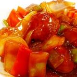 チルドの肉団子をアレンジ!中華風野菜炒め