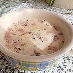 鍋要らず!レンジで簡単ミルクスープ
