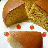 炊飯器とホットケーキミックスで簡単♪バナナケーキ