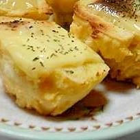 キャベツたっぷりおから蒸しパン チーズ焼き