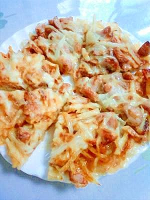 ☆ポテトピザ☆子どもが大好きなピザ♪