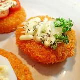 マスタードスプラウト&チーズonおやつコロッケ