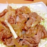 絶品(^^♪豚の生姜焼き
