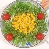 セロリとスイートコーンのサラダ