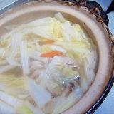 豚肉と白菜人参鍋