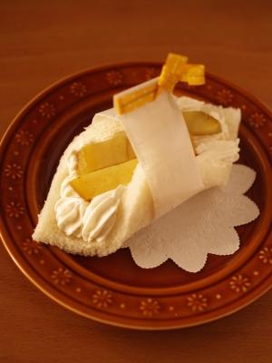 超簡単☆スイートポテト風サンドシナイッチ