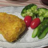 白身魚のカレーソテー