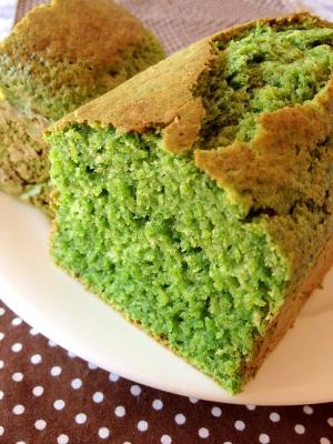 子供に野菜を♥HMでほうれん草のパウンドケーキ